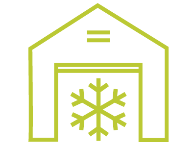 Cold Chains Icon